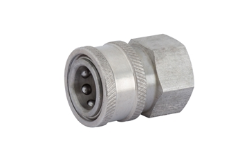 Picture of High Pressure Female Couplers - Stainless Steel
