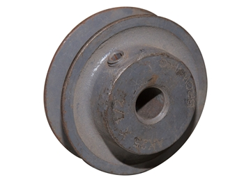 "Picture of Motor Pulley 2.5"" Od 1/2"" Bore"
