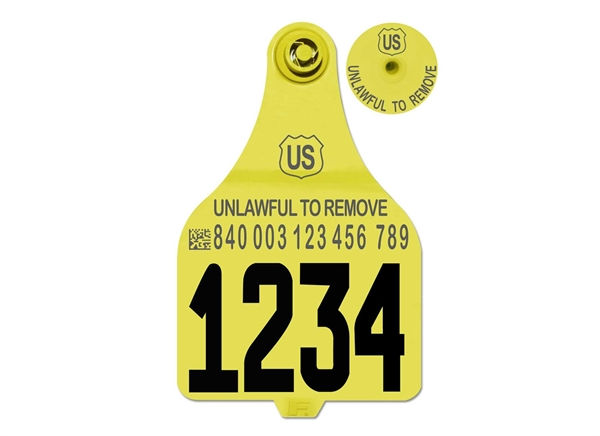 Picture of Duflex® 840 USDA ADT XL Cattle Tag
