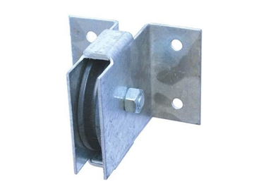 "Picture of 3-1/2"" Thru Wall Pulley"