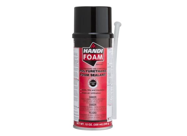 Picture of 12 oz Handi-Foam Can w/ Straw