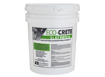 ECO-CRETE Slat Patch - 50 lb Pail