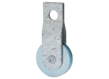 "Picture of 1-1/2"" Steel Strap Pulley"