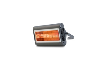 Picture of Solaira™ Alpha Series Electric Infrared Heaters H1 1.5kW 120V Silver/Gray