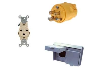 Picture for category Plugs & Receptacles