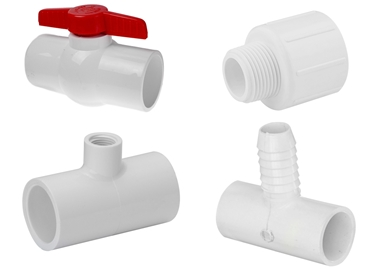 Picture for category PVC Fittings Valves & Pipe