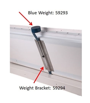 Hog Slat® Wall Inlet Weight & Bracket Image