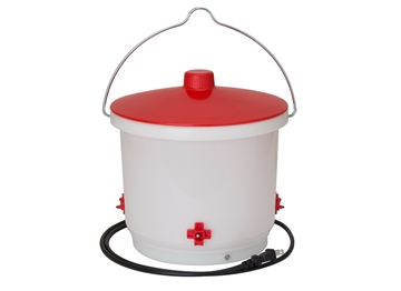 Heated 2 Gal Chicken Water Bucket