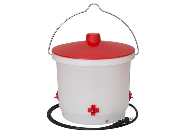 Heated 2 Gal Chicken Water Bucket