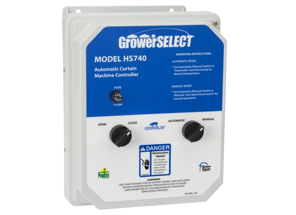 Grower SELECT® HS740 Automatic Curtain Controller
