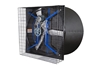 """Picture of AirStorm 57"""" Galvanized X-Brace Butterfly Fan w/ Cone"""