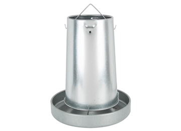 "FARMSTEAD ""Flex"" 22 LB Metal Chicken Feeder"