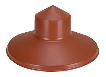"Rain Hat Cover for ""Flex"" Metal Chicken Feeder"