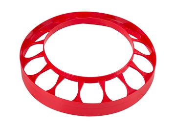 "Anti-Waste Ring for ""Flex"" Metal Chicken Feeder"