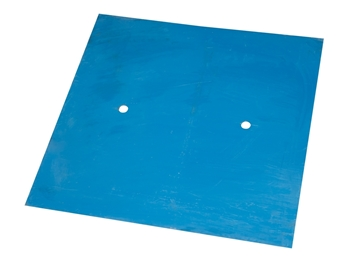 Picture of Solid Manhole Grate with two holes 18-1/2'' X 18-1/2''