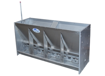 "Picture of 60"" X 31""  Hog Slat Platinum Wet/Dry Feeder 58-3/4"" Bolt Together"