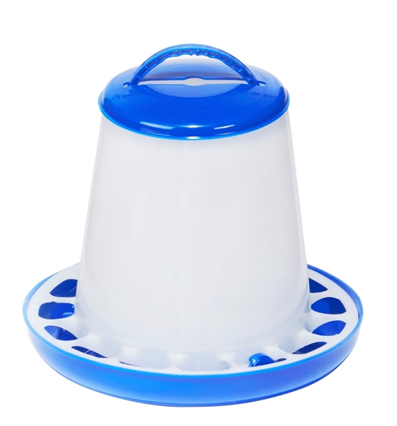 Double-Tuf® 1.5 LB Plastic Poultry Feeder