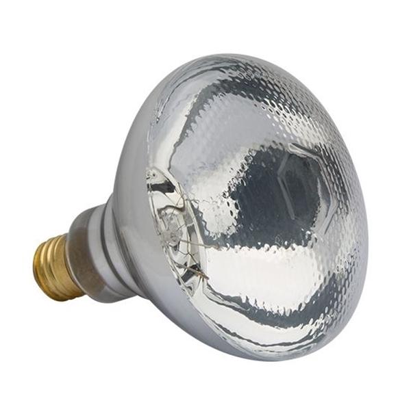 HOG SLAT® DIMPLED FACE HEAT LAMP BULB 125W