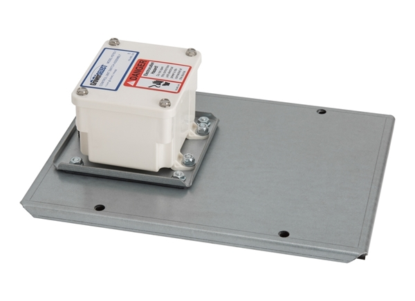 Hopper Extension Cover w/ Switch - Model 75