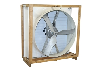 """Picture of Fan Package 51"""" DD VX High Output 230V 1PH, Cone PT SHTR"""