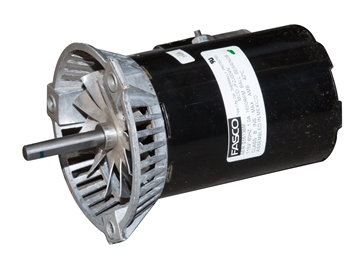 Picture of 1/10 HP motor for Hired Hand® Super Saver XL 75,000 BTU forced air furnace heater