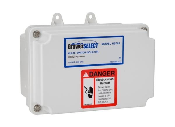 Grower SELECT® Multi Hopper Isolator Switch HS765