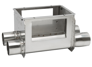 Grower SELECT® Twin Unloader - Stainless Steel (Model 75)