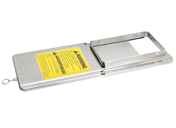 Grower SELECT® Transfer Plate & Slide Gate - Stainless Steel