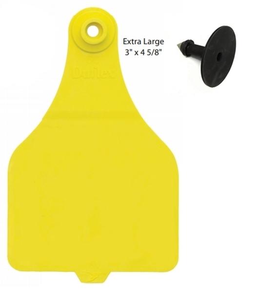 Duflex® XL Cattle Tag - Blank