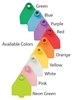 Duflex® XL Cattle Tag Available Colors