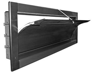 DirectAire Insulated Recessed Curved Sidewall Inlet (Model 4413)