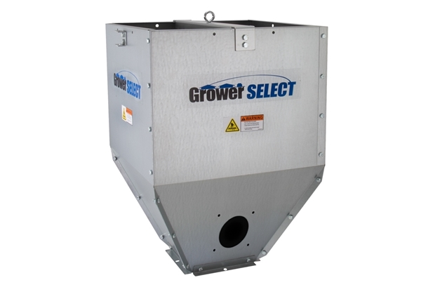 Grower SELECT® Poultry Feed Line Hopper w/ Lower Switch Hole