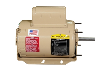 Picture of Motor 1/3 HP 1700 RPM 115/230V 60 Hz 1 Ph 48Z Fr 1/2""