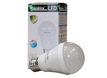Picture of Bulb Led Overdrive 6 Watt A19 3000K Dimm 480 LM 55MA