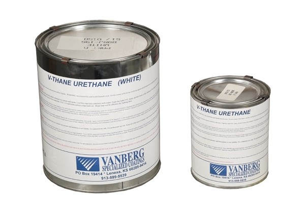 Picture of V-Thane White .75 Gallon - 1/2 Gal Part A Qt Part B