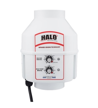 HaloJrMax Feed Line Control with PreWired Alarm Contact