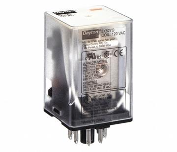 Octal Relay 8 Pin DPDT 10 Amp 120 VAC