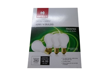 Picture of Bulb 40 Watt 130v 60008