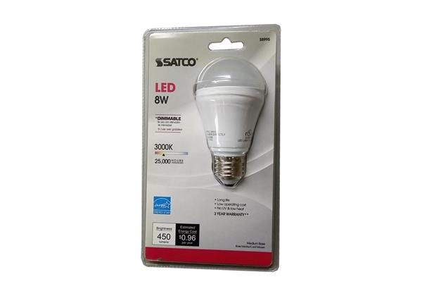 Picture of Bulb LED 5.5 Watt 2700K Satco 25,000Hr ** S9830**
