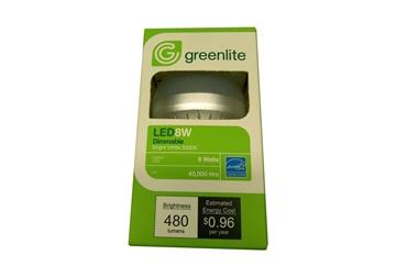 Picture of Bulb LED 8 Watt Low Dim Greenlite 3000K 450Lum 5yr