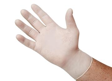 Hand-Tek® Powder-Free Vinyl Gloves - Large