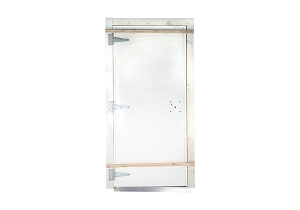 Picture of Door Barn Hog Slat Left 3' 0'' X 6' 8''