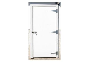 Picture of Door Barn Hog Slat Right 3' 0'' X 6' 8''