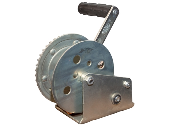 """Picture of Winch With Cable Keeper 1200 Lb With 2"""" Hub"""