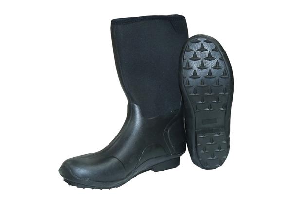 "Picture of Boot Drylight 14.5"" Black Neoprene Waterproof Size 13"