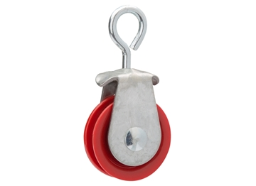 "Picture of 1-7/8"" Nylon Swivel Pulley"