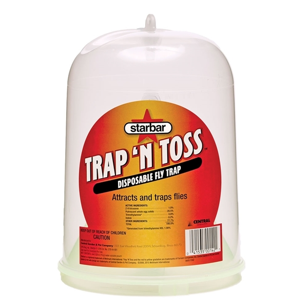 Starbar® Trap 'N Toss™ Disposable Fly Trap