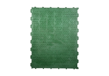 "Picture of Flooring Plastic Titan Solid GREEN 24""x 31-1/2"""
