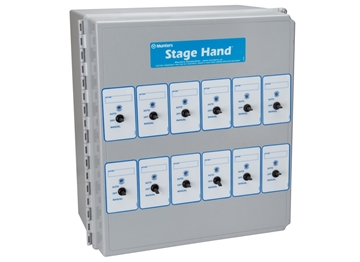 Picture of Control Stage Hand With 12 Relays 120 Vac