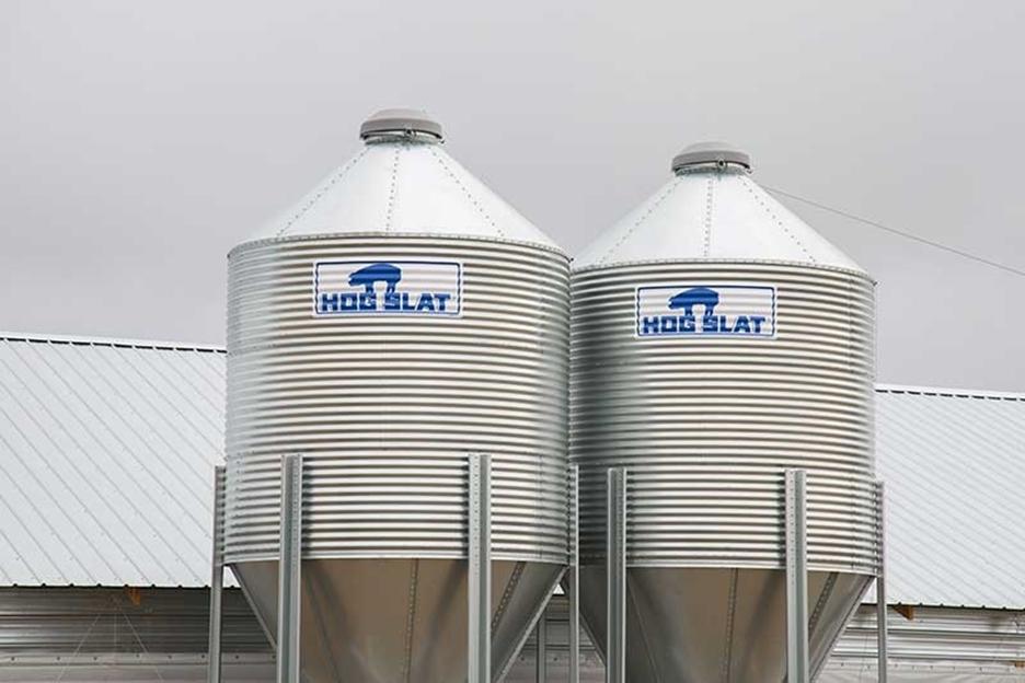 Feed Bins Built Like a Tank